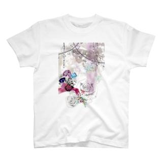 花蝶 T-shirts