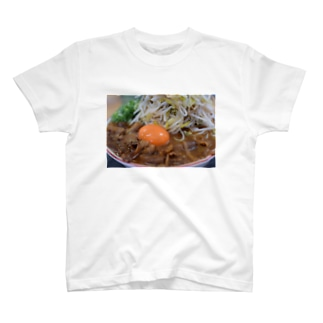 ラーメン 徳島 肉 おもしろ ギャグ ご当地 T-shirts