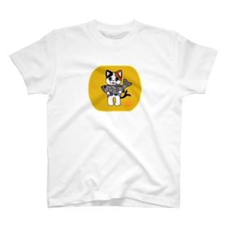 ミケ 金の恋MASTER T-shirts