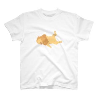 弱いライオン T-shirts