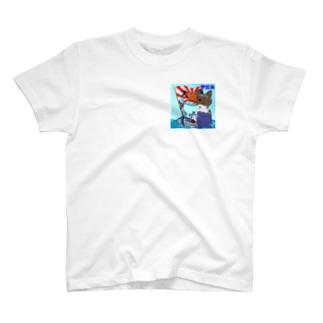 あじたい兄弟船 (表裏) T-shirts