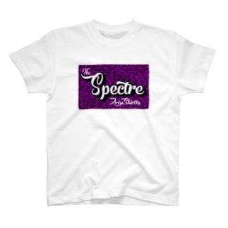 【白田亜利紗コラボ】Spectre Leopard Purple T-shirts