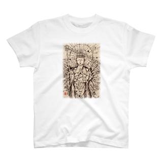 千手観音さま〜祈り〜 T-shirts