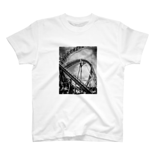 mono.T roller coaster 観覧車 T-shirts