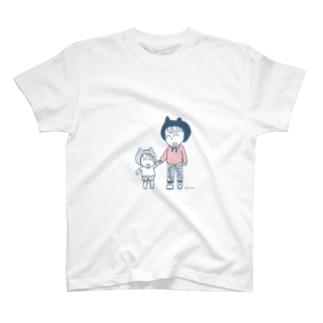 小さなぼくと大きなぼく T-shirts