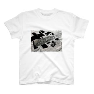 片瀬マコトwith 魚雷(トーピード) T-shirts