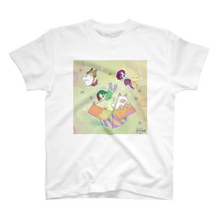 びっくり箱 T-shirts