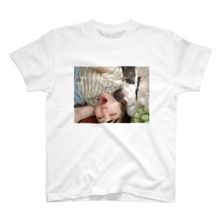 あくび万次郎 T-shirts