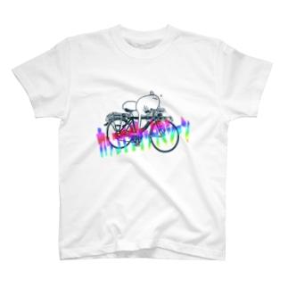 カッコイイケッタマシーンモチムシ T-shirts