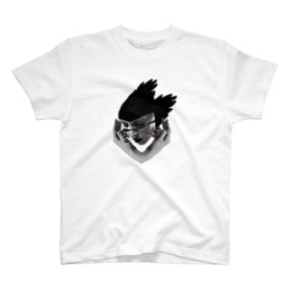道端で干からびた女の抜け殻 T-shirts