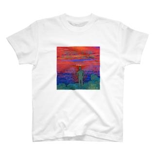 さざ波の音に癒されて T-shirts