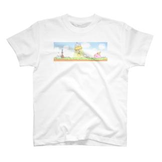 鳥スライムの大冒険 T-shirts