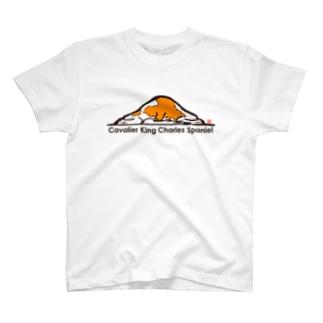 キャバリア 落書き№04 T-shirts