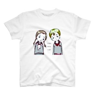 boy meets girl T-shirts
