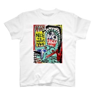 A sullen woman/お節介な女 T-shirts