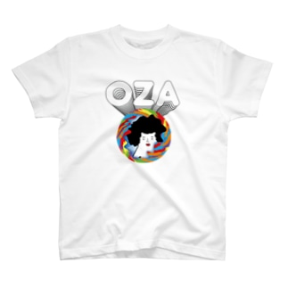 異空間にいるOZA T-shirts