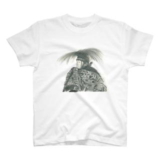 石見神楽 伝承者 T-shirts