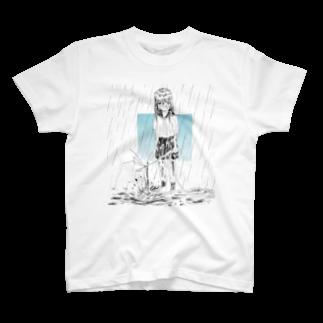 うさぎとしろくまのみずのおんな T-shirts
