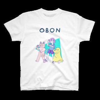 がくまこ・グッド・チョイス商会のOBON T-shirts