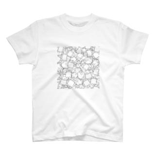 ドロイドくん盛り T-shirts