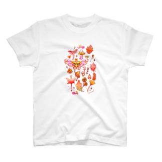 秋めく幻想博物誌 T-shirts