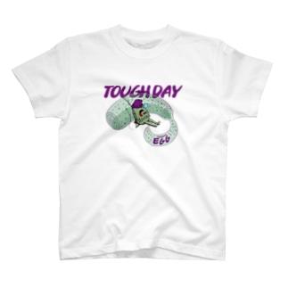 EGG P-TAN TOUGH DAY T-shirts