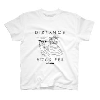 DISTANCE ROCK FES T-shirt T-shirts