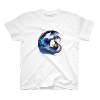 うお座の女の子 T-shirts