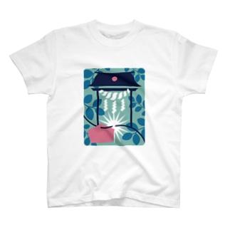 板橋アートシリーズ(縁切り榎) T-shirts