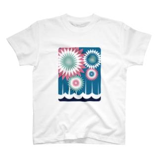 板橋アートシリーズ(いたばし花火大会) T-shirts