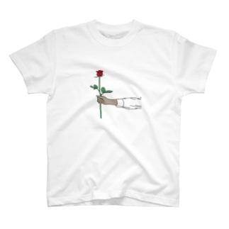 rose longT T-shirts