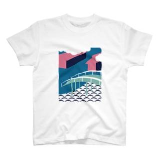 板橋アートシリーズ(板橋宿) T-shirts