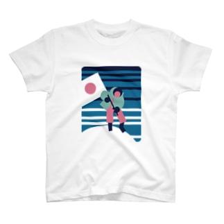 板橋アートシリーズ(植村さん) T-shirts
