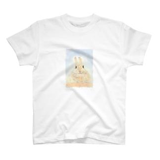 もふもふ神(みかん) T-shirts