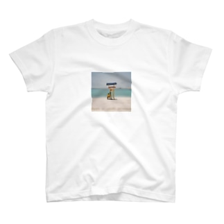 Lonely beach T-shirts