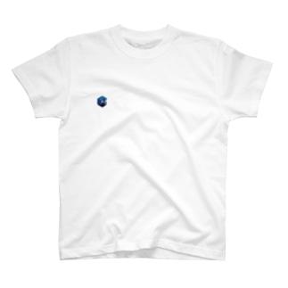 シンプル好きのグッズのお店 のkonpeki -紺碧- T-Shirt