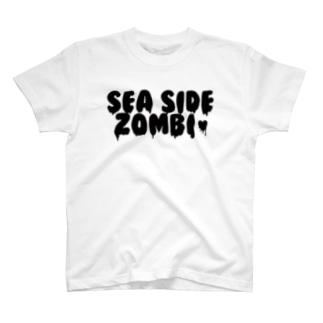 SEA SIDE ZOMBIE T-shirts
