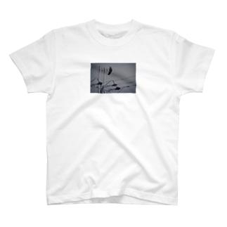 1羽の。 T-shirts