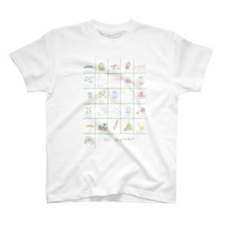アルファベット表 T-shirts