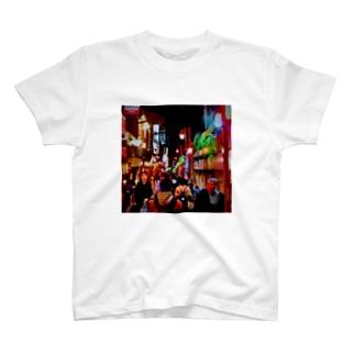 Tokyo nightview T-shirts
