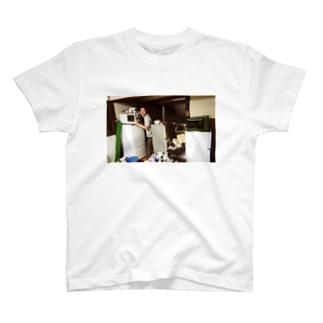 冷蔵庫廃品回収記念品(カラー) T-shirts