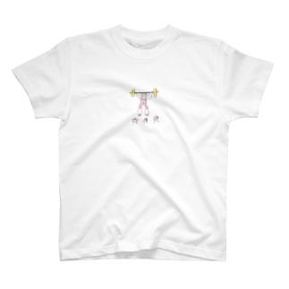 ウェイトリフティング T-shirts