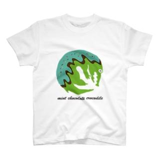 mint chocolate crocodile T-shirts