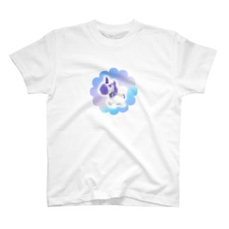 手乗りパパパユニコーン, ビッケデザイン T-Shirt