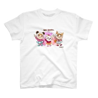 気ままやんず女子部 1st Anniv. T-shirts
