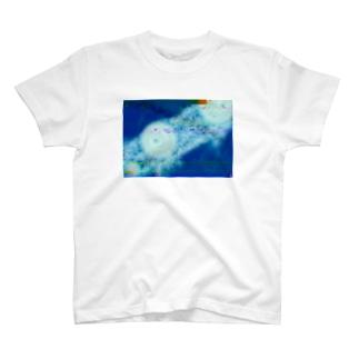 見ないで書いた天気図 T-shirts