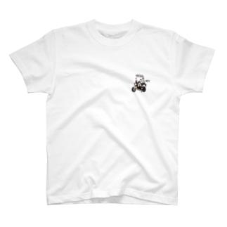 グロムはいいぞ!!(手書き文字 WHITE)  T-shirts