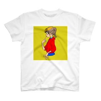 今時レトロ・フワトロ卵ver. T-shirts