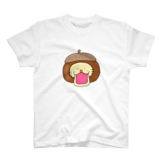びっくり栗ライオンくん T-shirts