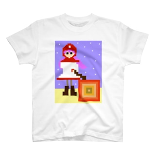 lightbluehourのムーンブルクの王女「メラ。」(from ドラゴンクエストⅡ) T-shirts